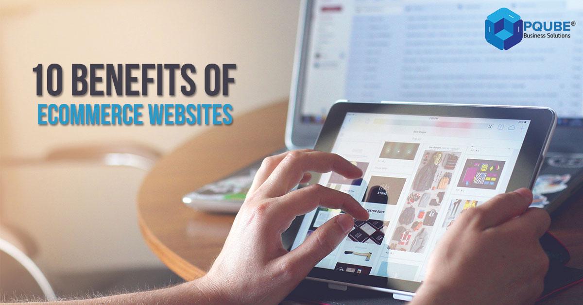 benefits of ecommerce websites